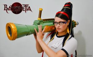 Bayonetta P.E. Uniform - Armed Even At School by Luthy-Lothlorien