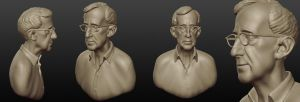 Woody - Sculptris model by J-M-D