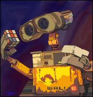 Vector Wall-e by skillydan