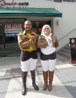 Connie Springer and Annie Leonhardt by R-Legend