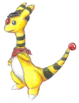 Shock the Ampharos by Proshi