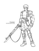 Concept sketch - Gunner by windship