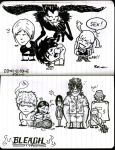 Death Note Bleach DoodleATWork by Asaph
