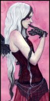 Thinking Of You -- Close Up by ElvenstarArt