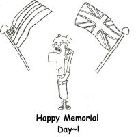 Ferb - Happy Memorial Day by TurboTony00