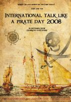 Pirate day poster by upton-pickman