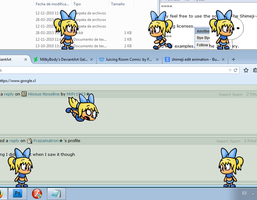(WIP) Lyloo Shimejis on my PC by JuacoProductionsArts
