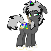 Spectrum Pony is unamused by your idiocity. by Lucefudu