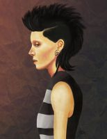 Lisbeth Salander by dolcesunset
