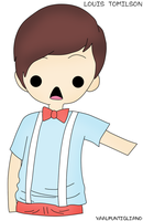 .Louis Tomilson chibi by me by iGoodbyeBreakingBad