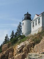 Bass Harbor lighthouse 1 by Reyphotos