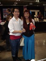 CCEE 2015: Ariel and Eric by QTZephyr