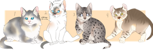 StormClan Free Adopts2-Closed by oCrystal