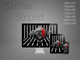 Skrillex Striped... Again by Dobloro