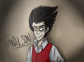 [DON'T STARVE] WILSON by Scribbleshadows