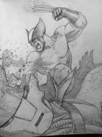 wolverine wip unfinished by Sajad126