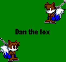 Dan the fox by CozandTails