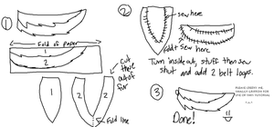 wolf tail tutorial by ShaggyGriffon