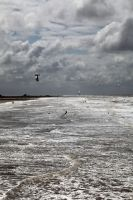 Kite Surfers by puppeteerHH