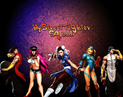 My Street Fighter Squad ^__^ by thekusanagi1