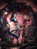Dark Wonderland 3-D conversion by MVRamsey