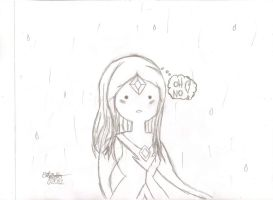 AT: Fire Princess in the Rain by lizzy905