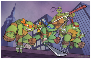 Turtle Boys Don't Cut No Slack by TheSteveYurko