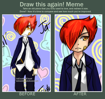 Before and After Meme - Lil' Jazz by tsubasahiluxisz