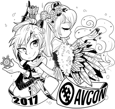 AVCon T-Shirt Design (2/2) by Teevz