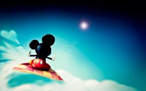 Wallpaper Mickey Mouse by Hankok07