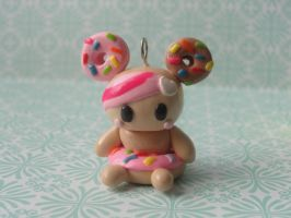 Kawaii Clay Tokidoki Donutella by CraftyOlivia