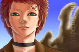 Gaara of the Sand by WhisperingSoul