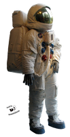 Cut-out stock PNG 125 -  US NASA astronaut by Momotte2stocks