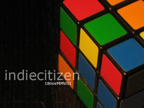 Rubix Cube 001 by indiecitizen