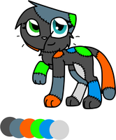 Holly Ref by Lightning-flame