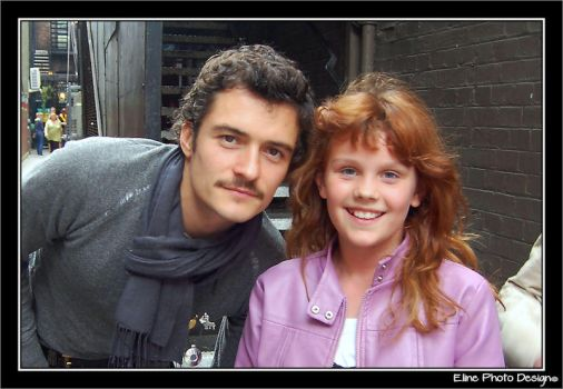 Me with Orlando Bloom by MrsElrohir-Ancalime