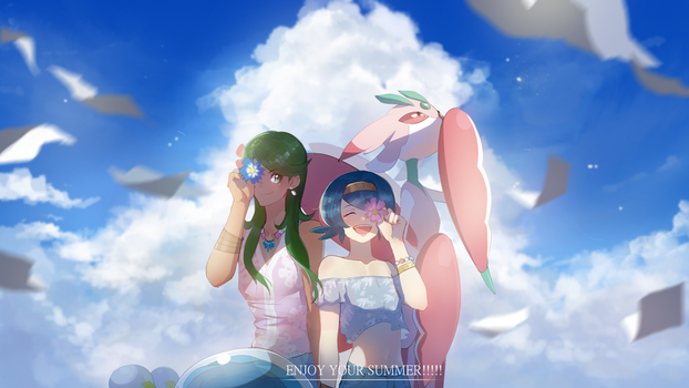 Alolan Summer by Billiam-X