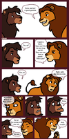 Kovu and Simba have a chat by fibralo