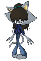 Me in a Sonic style! Wait, where did my shoes go? by SailorSetsuna