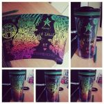 Personalized Starbucks Tumbler! by xxMusicalMime