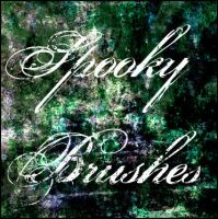Spooky Brushes - PS7 by chaosmuse
