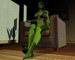 She hulk - Exclusive 17 by MorganCygnus