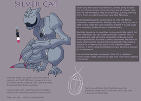 Kingdom Hearts OC - Silver Cat by Necromagy