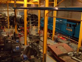 NRM Steam Engines under construction by DingRawD