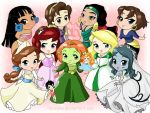 Chibi-princess NO disney by rebenke