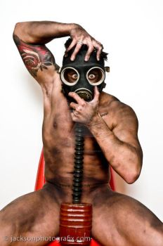 untitled - kevin in gas mask 7051 by jacksonphotografix