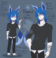 Hands on Hanzo the marvalous Glaceon by Hakaicchi