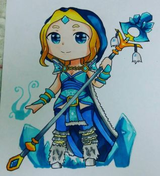 Crystal Maiden  by meokul123