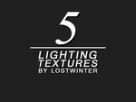5 Lighting Textures by lostwinter :: ZIP FILE by lostwinter14