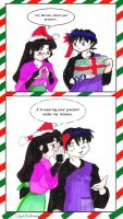 Secret santa for Miroku by GlyphBellchime
